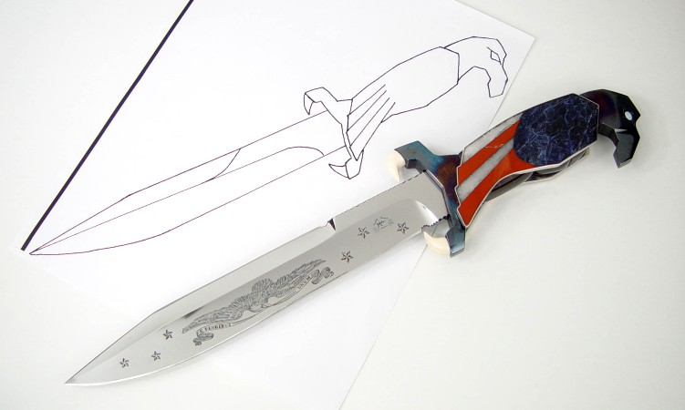 From Paper to Reality: custom knife design