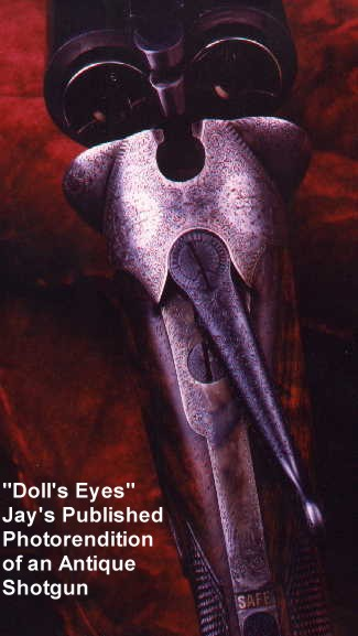 """Doll's Eyes"" my photography published in the Double Gun Journal"