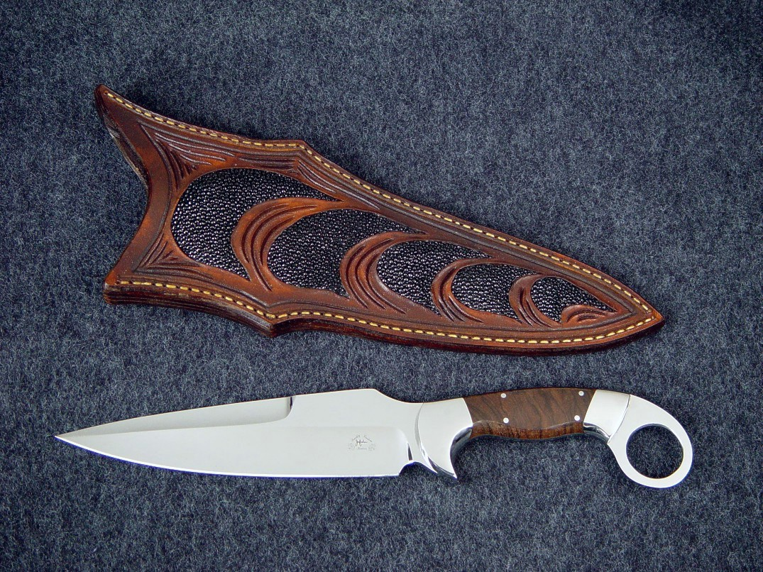 Quot Bulldog Quot Fine Custom Tactical Knife By Jay Fisher