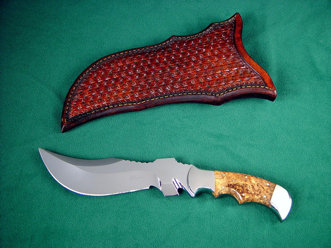 """Flamesteed"" specialized SERE rescue knife with ricasso line"