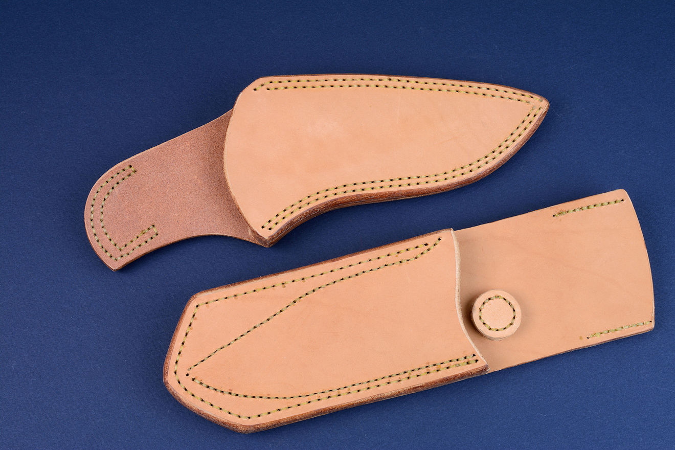 """Kairos"" Principle Security Detail (PSD) sheaths, undyed, untreated leather shoulder, vertical and horizontal wear."
