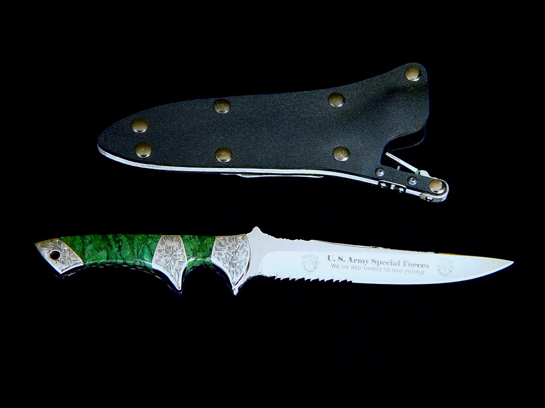 United States Army Special Forces Tactical Combat Knife