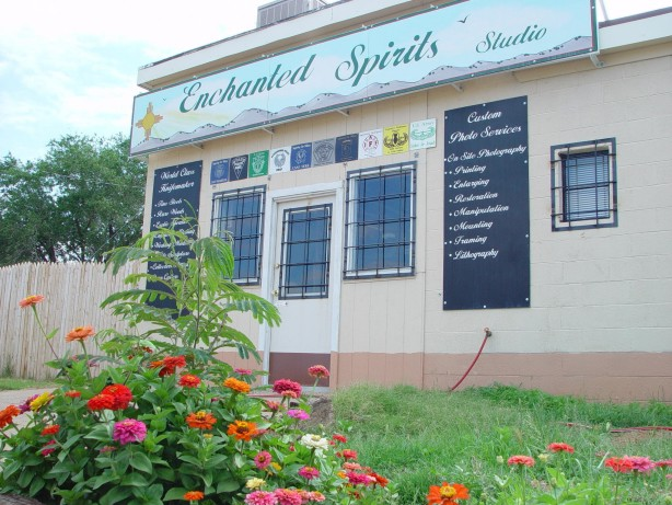 1405 Edwards, Clovis, NM 88101 - Enchanted Spirits Studio